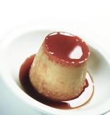 Ibili 4 Moules Crème Caramel Moka Acier 8 cm par Ibili
