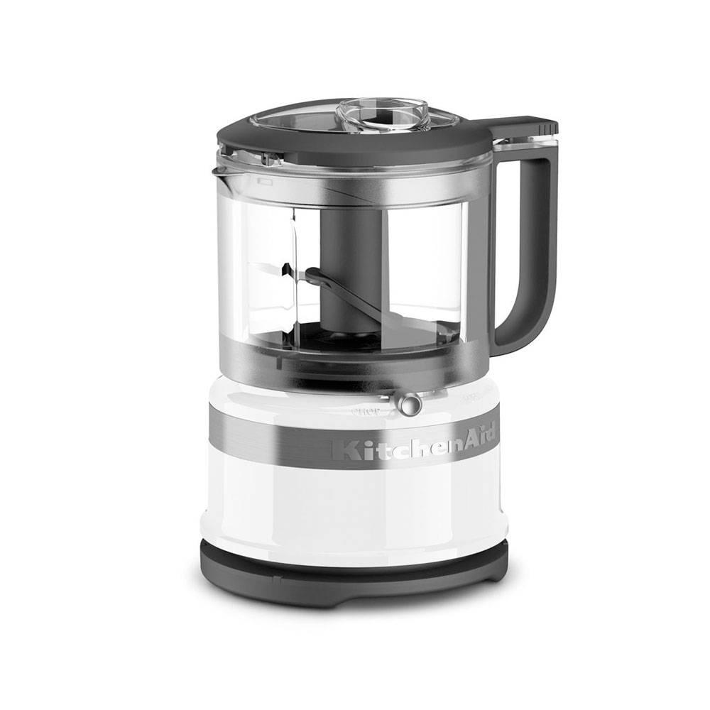 mini robot culinaire 3 tasses par kitchenaid blanc vente de zone de prix choc accessoires. Black Bedroom Furniture Sets. Home Design Ideas