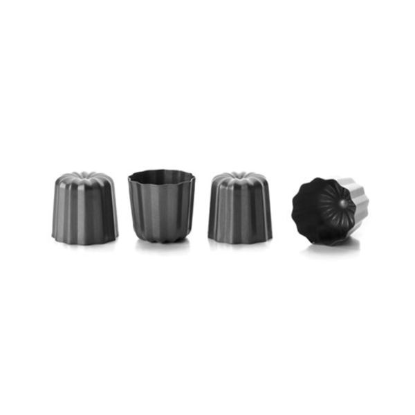Ibili Set of 4 Fluted Molds