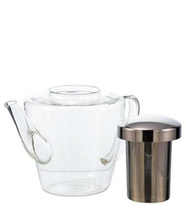 """Grosche Grosche """"Sicily"""" Glass Teapot with Infuser"""