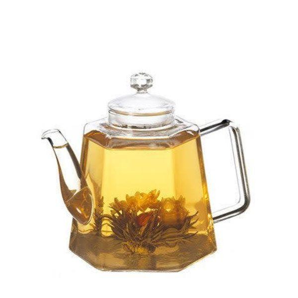 """Grosche """"Vienna"""" Glass Tea Pot with Strainer"""