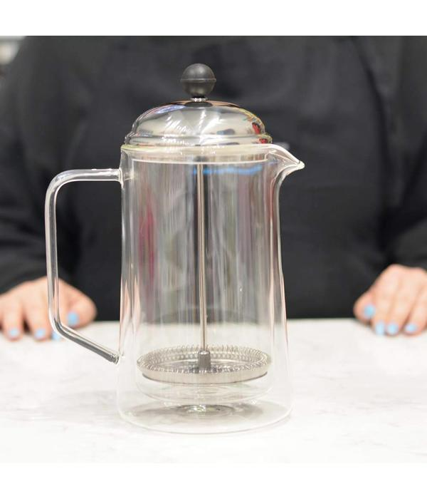 "Grosche Grosche ""Stanford"" Double Walled Glass French Press"
