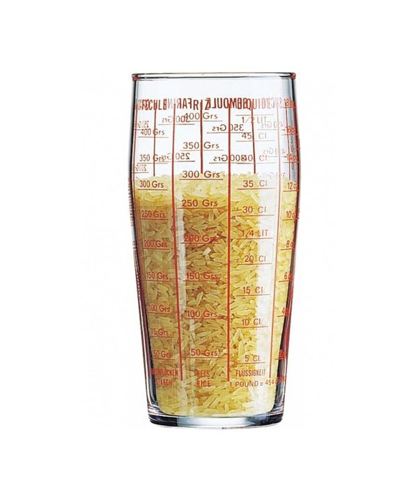 LUMINARC CLEAR MEASURING GLASS 19.5 OZ