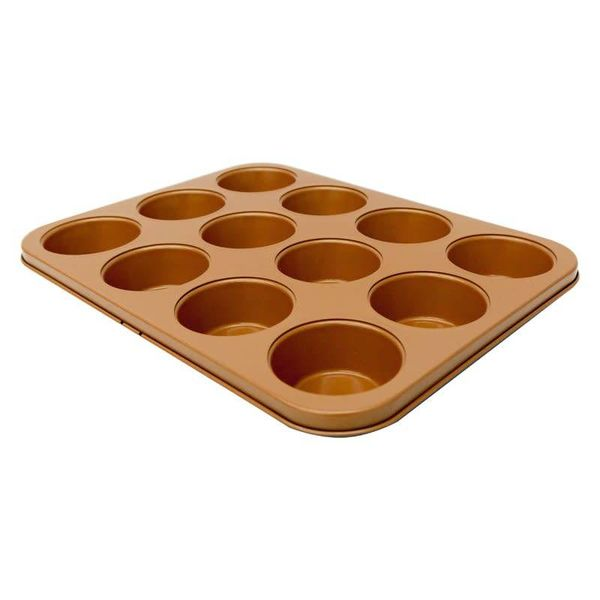 Gotham Steel 12 Cup Muffin Pan