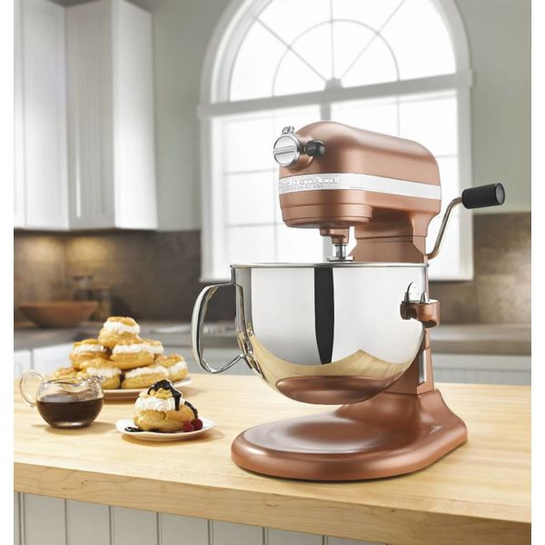 KitchenAid 6 Qt. Professional 600 Series Bowl-Lift Stand Mixer - Copper Pearl