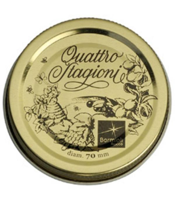 Bormioli Rocco Trudeau Set of 2 Quattro Stagioni Medium Caps
