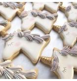 Ann Clark Ann Clark Unicorn Head Cookie Cutter - 4 Inches - Tin Plated Steel