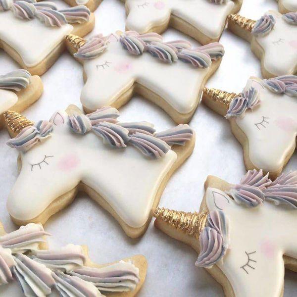 Ann Clark Unicorn Head Cookie Cutter - 4 Inches - Tin Plated Steel