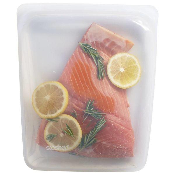 Stasher Reusable Half-Gallon Bag - Clear