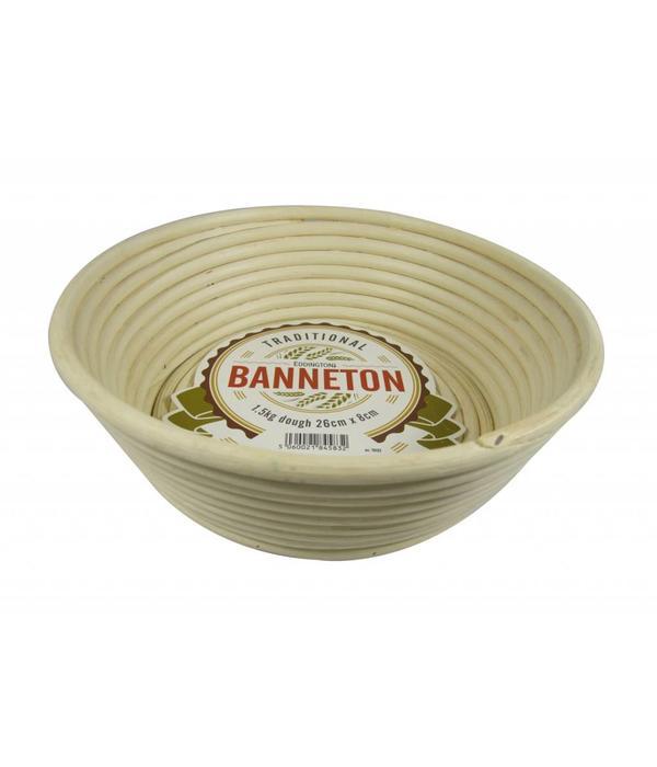 Eddingtons Angled Round Banneton Proving Bread Making Basket