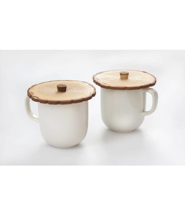 Charles Viancin Silicone Set of 2 Timber Lids