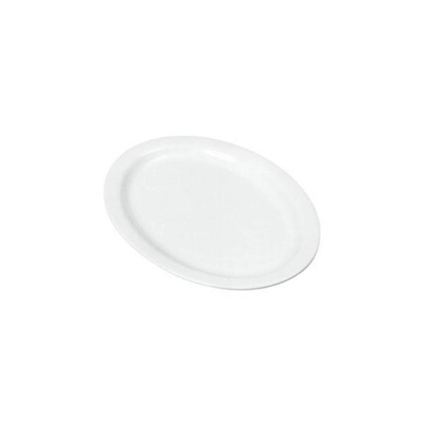 Johnson Rose 24 cm White Oval Platter