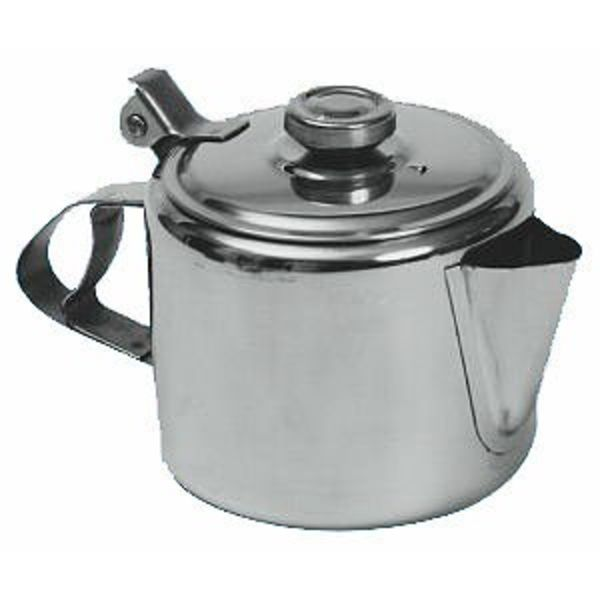 10oz Stainless Steel Johnson Rose Teapot