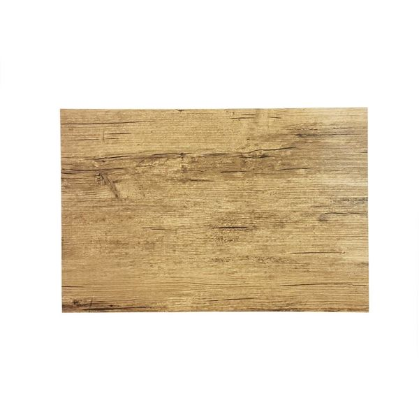 """Rustic Style Placemat """"Light Wood"""""""