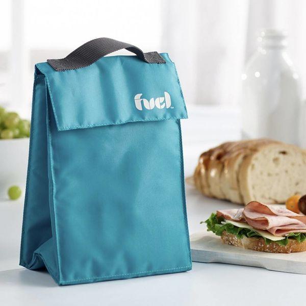 """Trudeau Tropical Blue """"Fuel"""" Lunch Bag"""