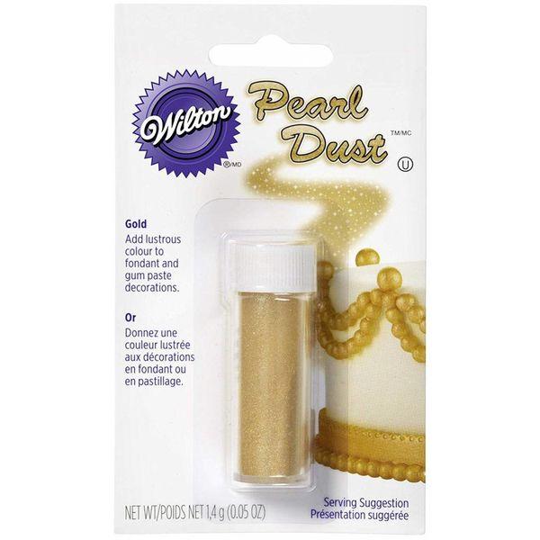Wilton Colour Dust Decorating Powder Pearl Gold
