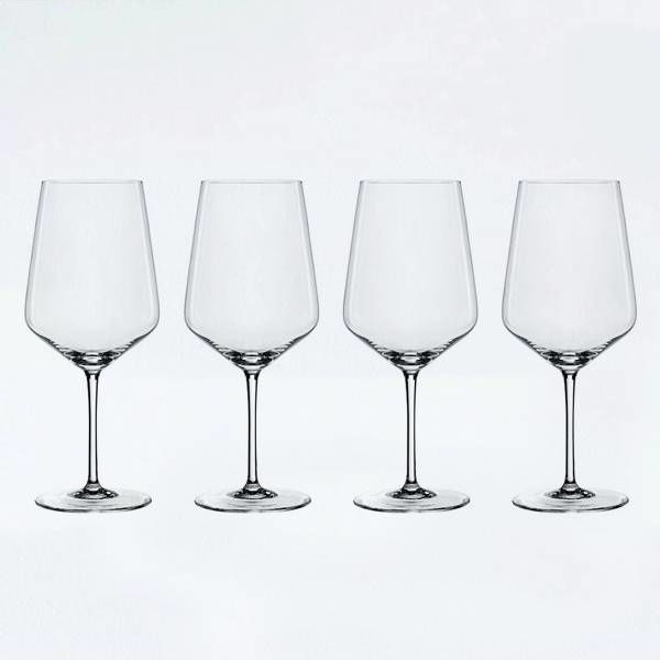 "Spiegelau Set of 4 Red ""Style"" Wine Glasses"