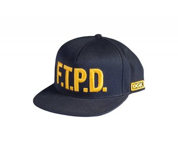DGK FTPD Snapback Cap