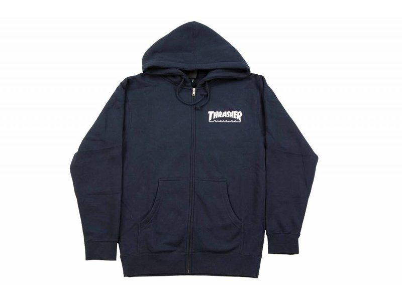 Thrasher Thrasher Skate Mag Zip up Hooded Sweatshirt