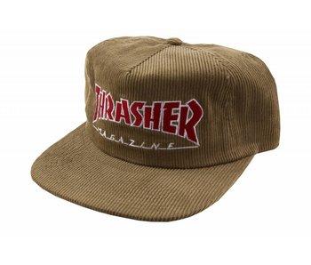 Thrasher Mag Logo Cord Hat