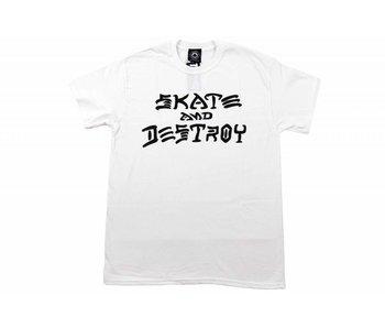 Thrasher Sk8 & Destroy Shirt