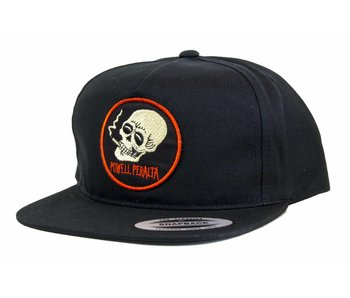 Powell Smoking Skull Snapback