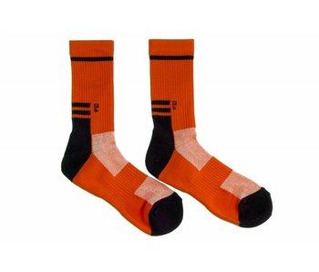 Psockadelic Rough Red sock