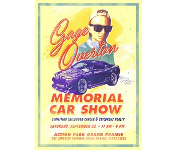 Gage Overton Show Registration