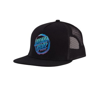 Santa Cruz Throwdown Dot Mesh Trucker