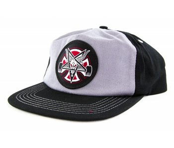 Thrasher Independent Pentagram Cross Snapback Hat