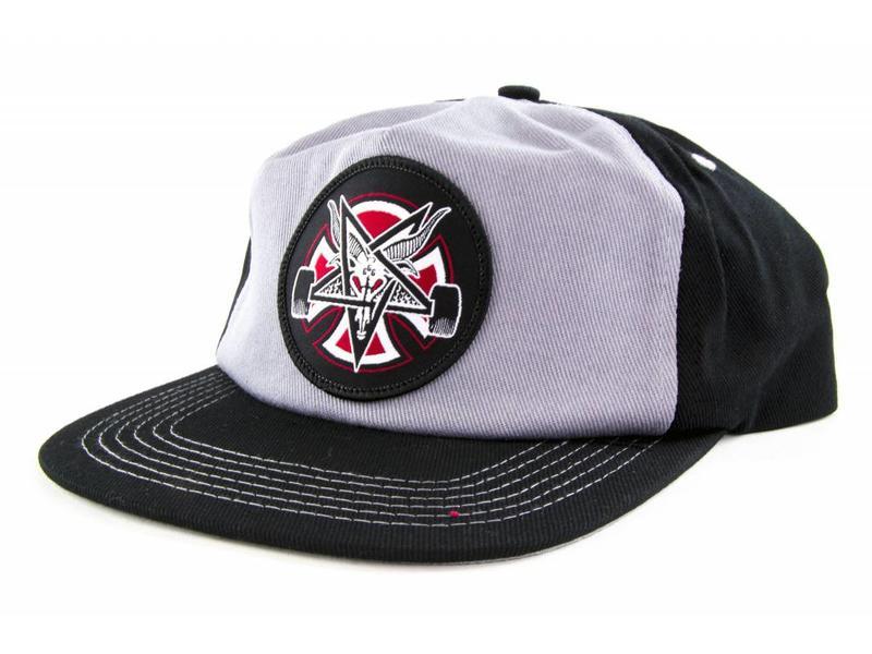 Independent Thrasher Independent Pentagram Cross Snapback Hat