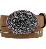 Tony Lama Girl's Belt, Sweetheart