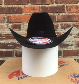 American Hat Co 7X 6CB - 4 1/4, Black
