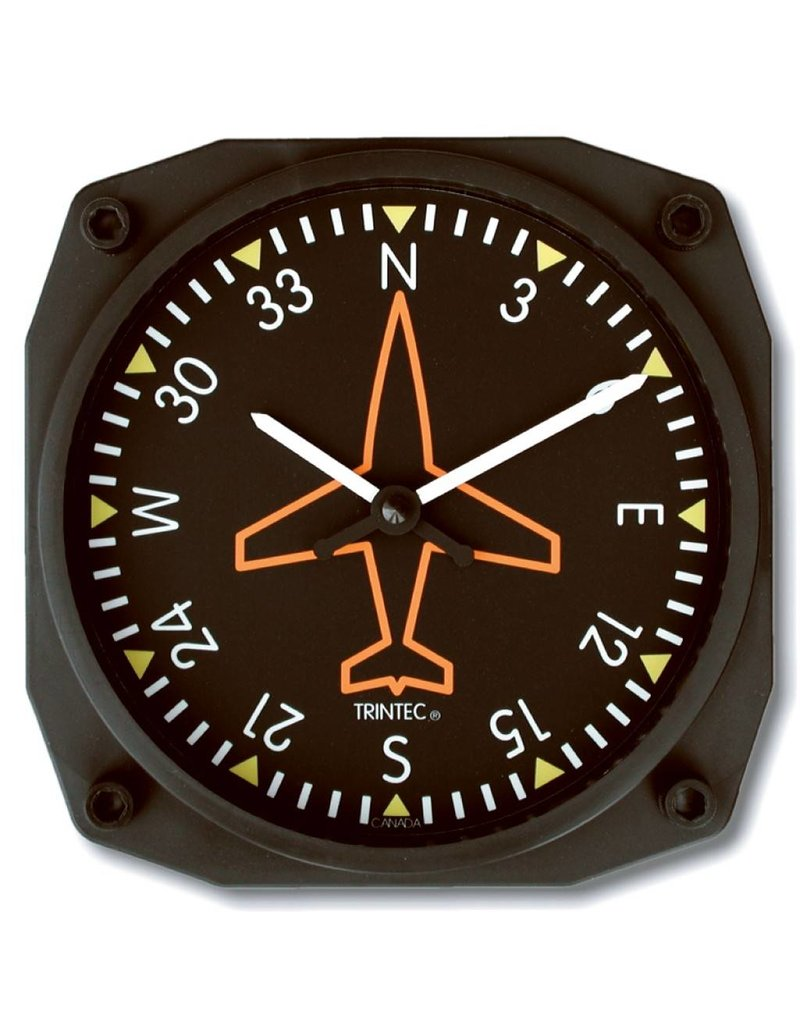 TRINTEC Directional Gyro Wall Clock 9062