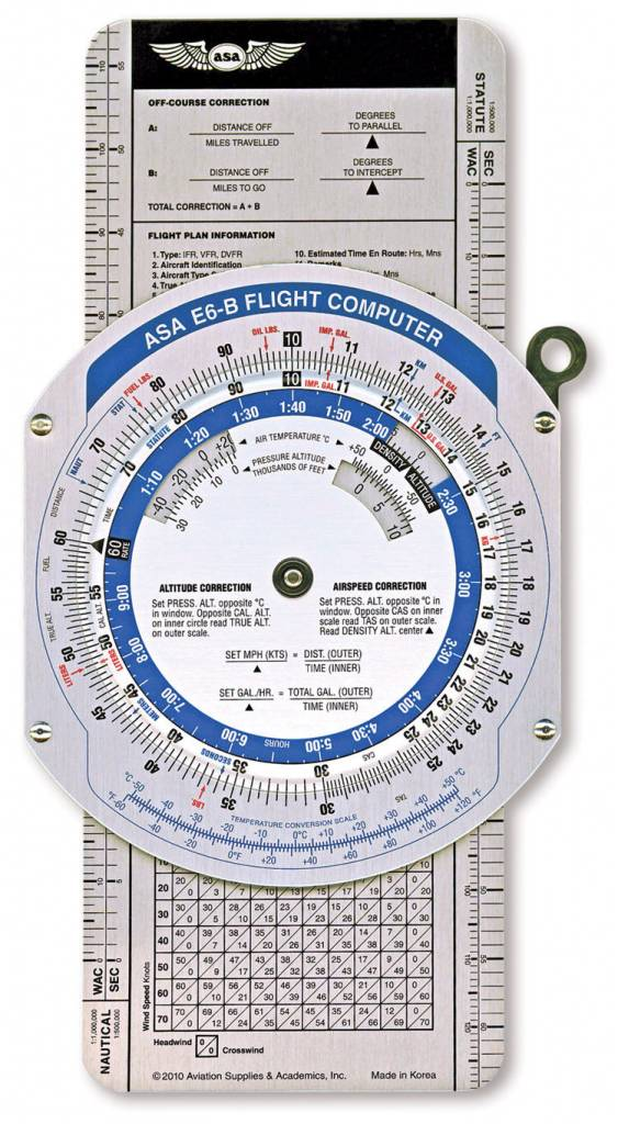 ASA ASA E6-B Color Flight Computer