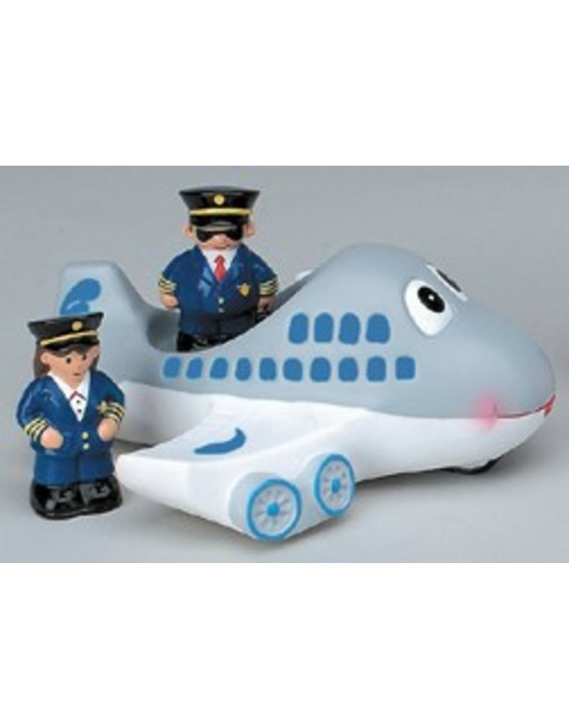 AIRPLANE TUB TOY