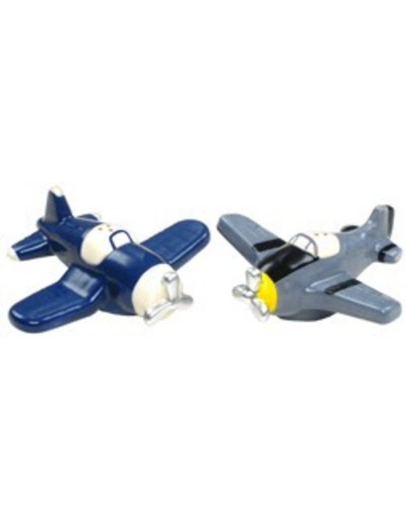 WARBIRD SALT AND PEPPER SHAKERS