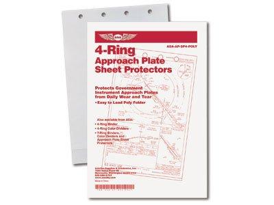 ASA 4-RING CHART PROTECTORS