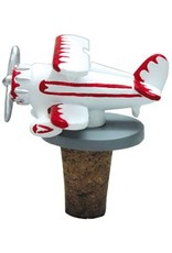 Biplane Bottle Stopper