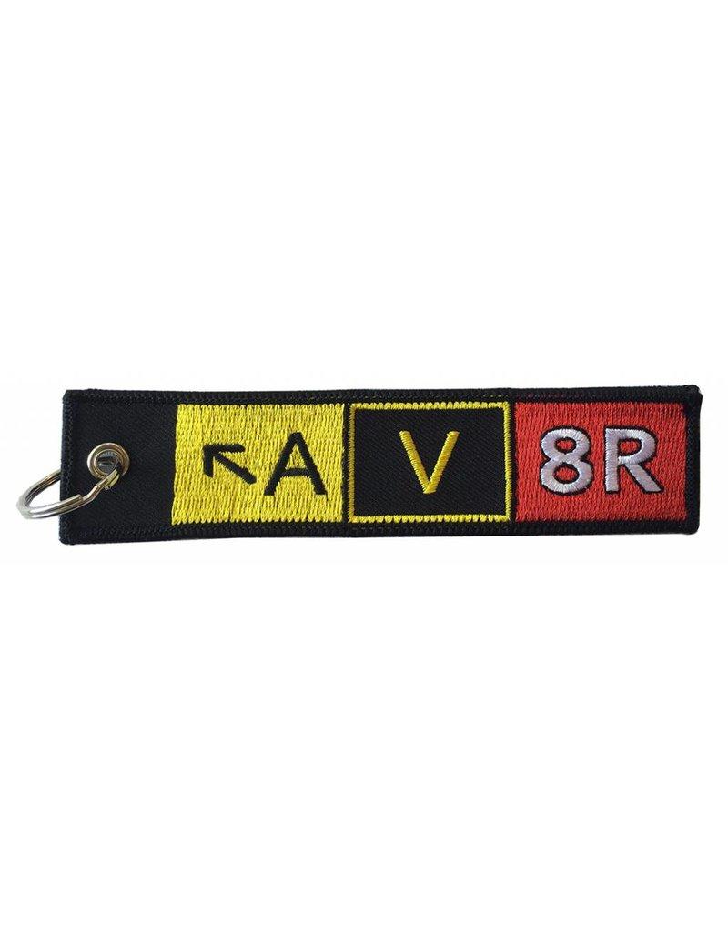 AV8R Embroidered Keychain