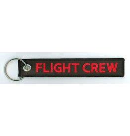 FLIGHT CREW Embroidered Keychain