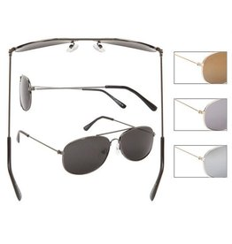 Metal Framed Aviators Kids Sunglasses