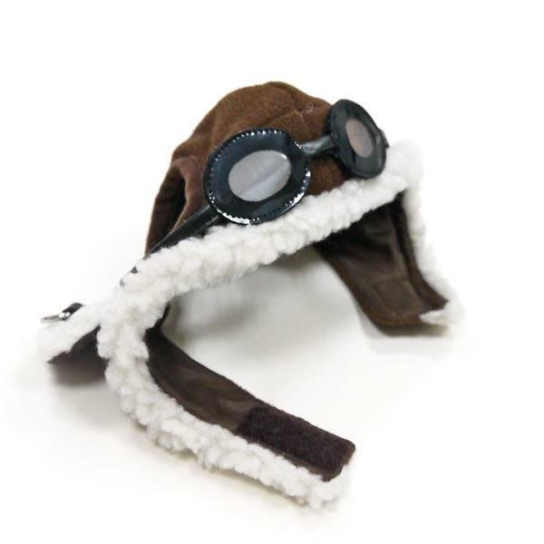Brown Aviator Hat