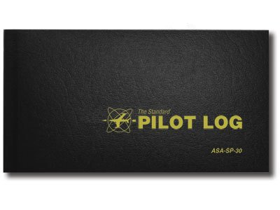 ASA Standard Pilot Log Black