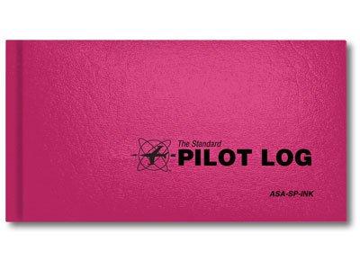 ASA Standard Pilot Log Pink