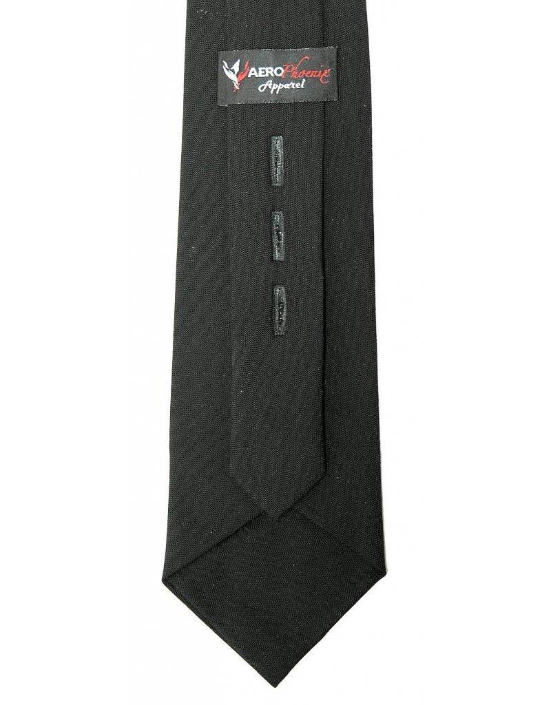 Tie, Black XL, Polyester / Wool Blend
