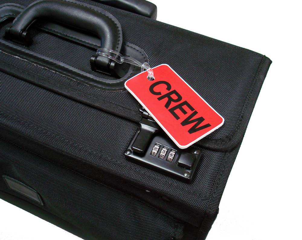 CREW Tag, Gelflex Double Sided RED