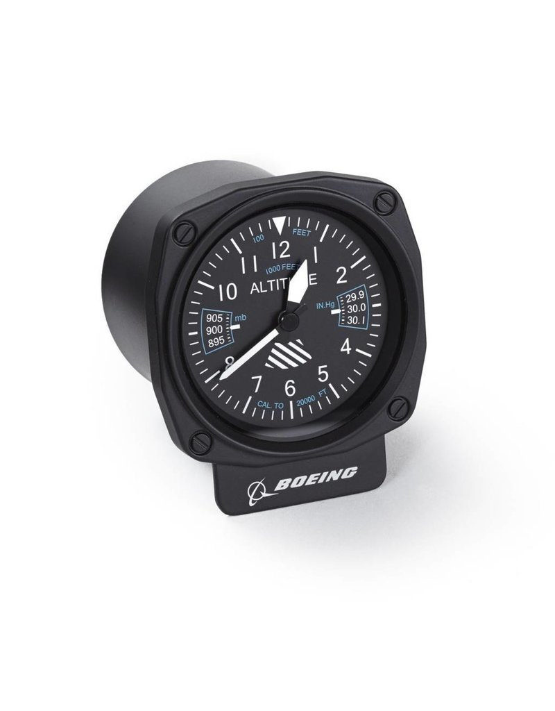 Boeing Cockpit Altimeter Desk Clock