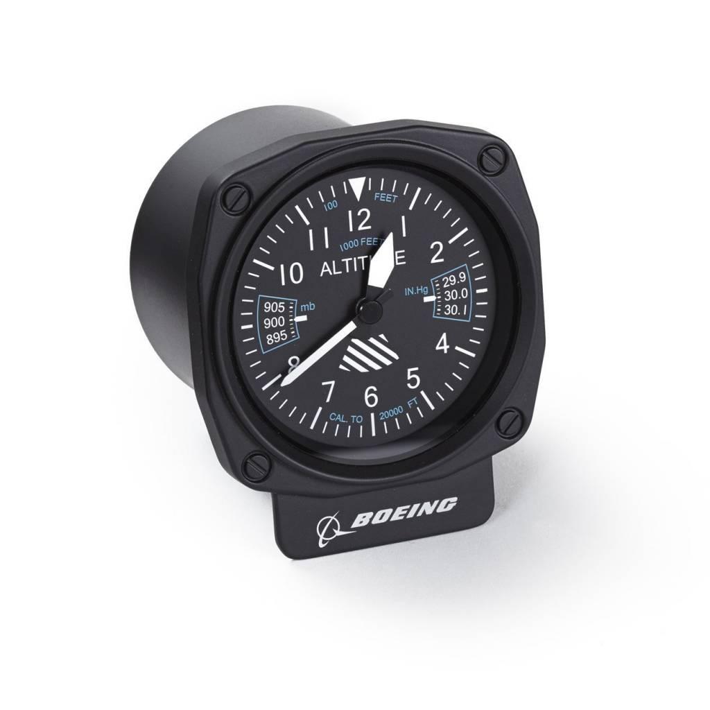 Boeing Cockpit Altimeter Desk Clock