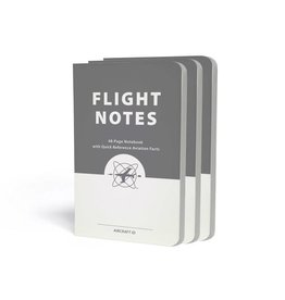 ASA Flight Notes, 48-page Notebook, 3-pack